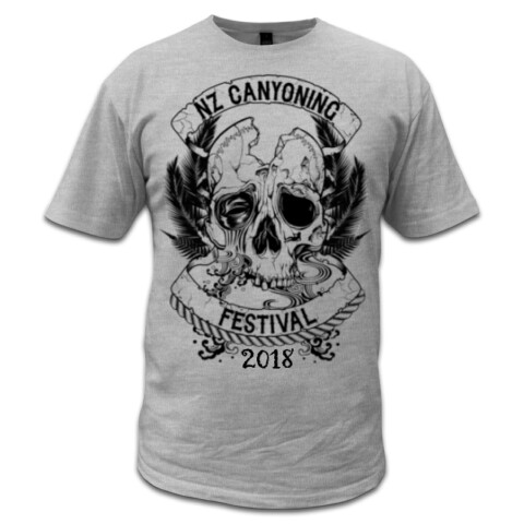 Mens 2018 Festival Shirt - NZ Canyoning Association